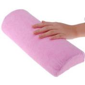 ATNails Pink Soft Hand Cushion Pillow Rest Nail Art Manicure Art Salon Beauty