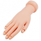 SWT Movable Practise Model Hand for Nail Art Training Tips