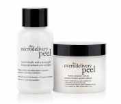 Philosophy Microdelivery Peel - Lactic/Salicylic Acid Activation Gel + Vitamin C /peptide Crystal - 2pcs
