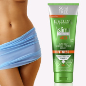 Eveline Cosmetics - Slim Extreme 4D Intensively Slimming + Firming Serum FITNESS Cooling Effect 250 ml