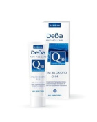 DeBa Anti-wrinkle Eye Cream with Q10, Pro-Retinol, Vitamin E and Grape Seed Oil * Anti-Age Care 30+ * 15ml
