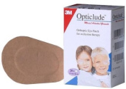 OPTICLUDETM ORTHOPTIC EYE PATCHES - STANDARD SIZE 8.2CM X 5.6CM - 20 PATCHES