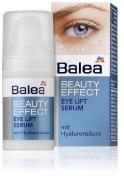 Balea Beauty Effect Eye-Lift Serum with Natural Hyaluronic Acid- Reduces Eye-Bags, Smoothes Skin - Vegan/No Animal Testing -15ml