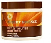 Desert Essence Gentle Stimulating Facial Scrub, 120ml