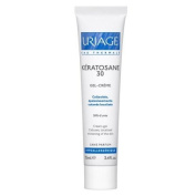 Uriage Keratosane 30 Gel-creme Cream-gel for Irritated, Damaged and Rough Skin, Calluses and Localised Hard Areas 75 Ml