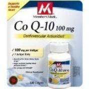 Member's Mark - Co Q-10 100 mg, 130 Softgels