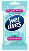 WET ONES TRAVEL BE GENTLE 12