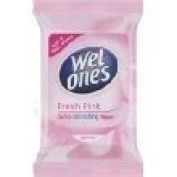 Wet Ones Soft & Refreshing Wipes Fresh Pink 12