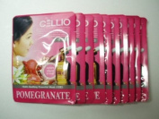 Korean Cosmetics_Cellio Extra Soothing Essential Mask_Pomegranate_10 sheets