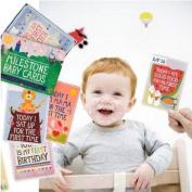 Milestone Baby Cards, Cards to photograph baby milestone memories