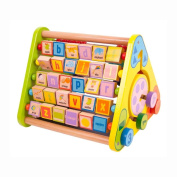 Bigjigs Toys BB054 Triangular Activity Centre