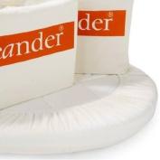 Leander cradle sheets twinpack