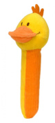 Duck Squeakaboo squeaker and rattle toy