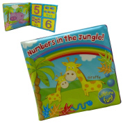 Jungle / Travel Baby bath Time Book Toy - Bath Time Fun For Babies