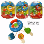 Brand New Baby & Toddler Electronic Steering Wheel Musical Light up Activity Toy 24+ Months