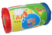 Inflatable Roller - Crawling Aid -- Educational, Learning & Activity Rattling Cylinder