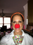 Red Foam Clown Noses (12 pcs)