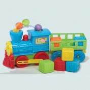 BEAUTIFUL BEGINNINGS Train Set with Trailer & Blocks