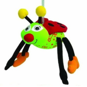 Springy Animal Mobile - Ladybird a bright bouncy fun friend