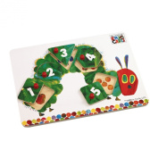 The Very Hungry Caterpillar Hungry Caterpillar Wooden Peg Puzzle