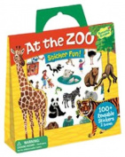 Peaceable Kingdom Press / Sticker Fun! 'At the Zoo' Reusable Sticker Tote