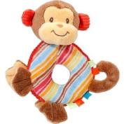 Playtivity Soft Plush Monkey Babies Hand Rattle Toy