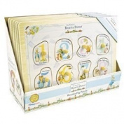 Beatrix Potter Peg Puzzle - Peter Rabbit - Jemima Puddleduck - Traditional Baby Toys - New Baby Gift - Activity Toy