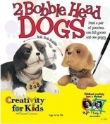 Creativity For Kids 2 Bobble Head Dogs To Paint Craft Kit