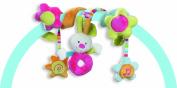 Fehn 70's Stripes Hare Activity Spiral for Infant Carrier