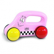 Vilac 5832 Wooden Baby Car Barbapapa