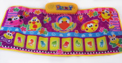Electronic Musical Animal Play Mat Assorted