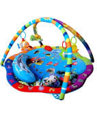 Musical Baby Activity Ocean Sealife Play Mat Gym playmat