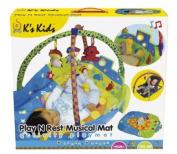 K's Kids 10414 Play 'n' Rest Musical Mat