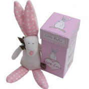 Rufus The Rabbit Girl's Rattle in Gift Box