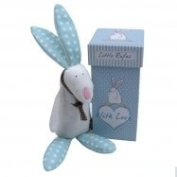 Rufus The Rabbit Boys Rattle in Gift Box