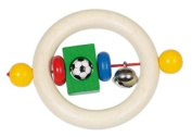 Baby Nursery Toys : Baby Teething Football Rattle Wooden Toy [Baby Product]