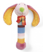 Happy Horse 18cm Dinkey Dog Rattle Toy
