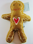 Gisela Graham - Felt Embroidered Gingerbread Man Small Soft Toy