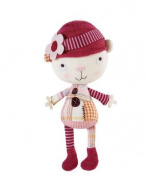 Mamas & Papas - Scrapbook Girl - Soft Rattle Toy