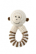 Bellybutton Crochet Rattle Monkey