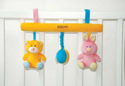 MaByLand Teddy and Bunny Cot/Pram Rattle