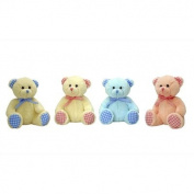 Keel 15cm Nursery Gingham Bear Assorted SN3869