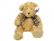 32cm. Bear with Checked Ribbon by Cuddles time.
