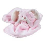 Walton Baby - Softee Rabbit Security Blanket - Pink