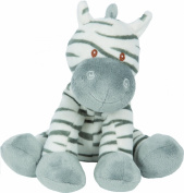 Zooma Zebra ~ Medium Size (approx 18cm high) ~ Soft Toy