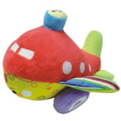 Baby boy soft toy plane - Will arrive boxed