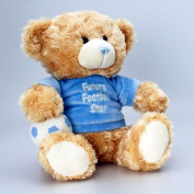 'Cuddles' Football Bear 25cm soft toy - Keel toys - teddy bear baby footie star