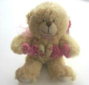 Gorgeous Plush 18cm Honey Bear With Mum Lettering