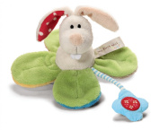 Great Gizmos My First NICI Grabber Rabbit in Flower with Bell