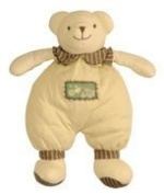 Soft Cotton Bear Baby Toy / Comforter